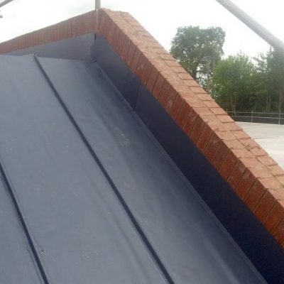 Extended Garage Singly Ply Roofing 3