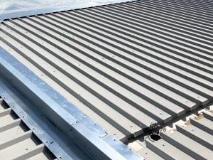 Large Garage Single Skin Roofing 1
