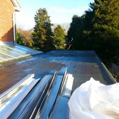 Domestic Garage Roof Single Ply 5