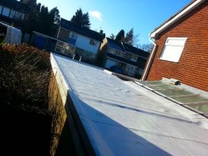 Domestic Garage Roof Single Ply 1