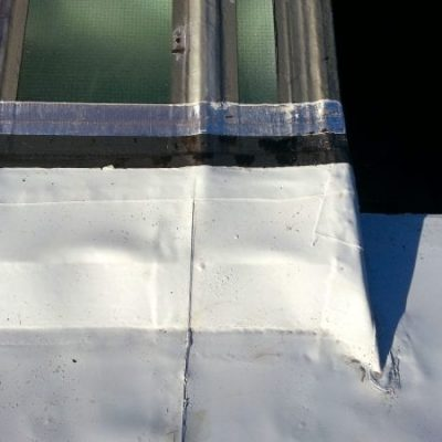 Domestic Garage Roof Single Ply 4