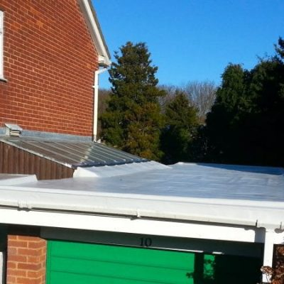 Domestic Garage Roof Single Ply 2